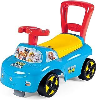 Smoby 智比 - Paw Patrol 防滑车 - 带收纳架和防倾翻的儿童车 适用于室内和室外 Paw Patrol 设计 适合 10 个月以上的儿童