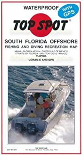 Top Spot N210 南佛罗里达近海捕鱼地图