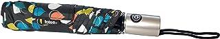 Totes NeverWet Technology,自动开合自动关闭,43 英寸弧形雨伞,彩色雨伞,