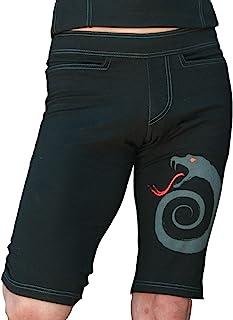 Bhujang Style 男士防刮瑜伽短裤 - 更长