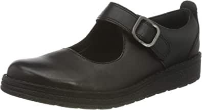 Clarks 女童 Mendipstitch K 制服鞋