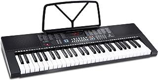 电子键盘钢琴 54 键,Ohuhu 音乐钢琴键盘,带耳机插孔和教学模式,适合初学者