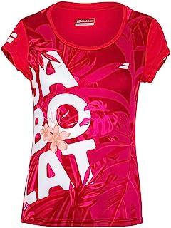 Babolat 女士运动图案 T 恤 W 汗衫