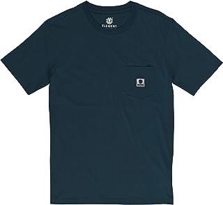 Element 男士基本口袋标签 T 恤衫