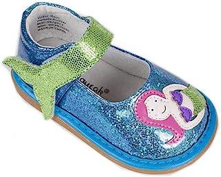 Wee Squeak 女童学步鞋,带可拆卸发声器