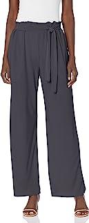 Star Vixen 女式加大码阔腿裤,深灰色,3X