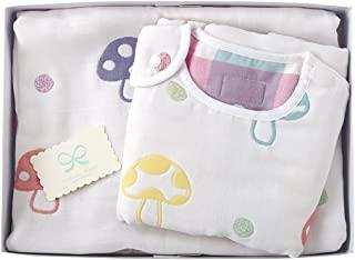 Hoppetta champignon 6层纱布 睡袋 礼品套装 18111024