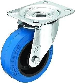 Blickle 11.1900 高品质旋转脚轮 - 蓝色