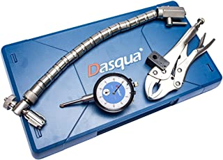 Dasqua 7611-0025 0-1 英寸圆盘和转子柔性铬汽车套装