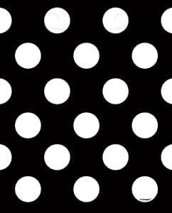 黑色波尔卡圆点餐巾纸 黑色 均码 62070