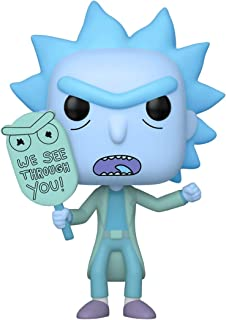 FunKo Pop! 动画:Rick & Morty -全息图Rick克隆,黑暗中的光芒
