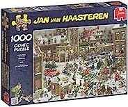Jumbo Spiele Jan Van Haastere 圣诞节拼图,1000件-货号13007