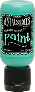 Dylusions 油漆 TQ,充满活力的绿松石,均码