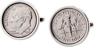 19 岁生日男式 - 1999 硬币袖扣 - * *