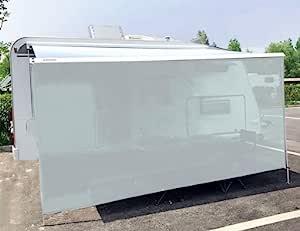 "Tentproinc RV 遮阳篷 7'X10'3"" 灰色网眼遮阳罩防紫外线套件 - 3 年有限保修"