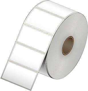 2 x 1 直接热纸标签贴纸 - 15720 标签 - 每卷 1310 个标签 - 12 卷 - 适用于 Datamax、Intermec、Sato、TSC、Zebra Direct Thermal 打印机