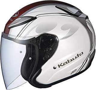 OGK KABUTO(オージーケーカブト) Jet AVAND2 自行车头盔,珍珠白,XL