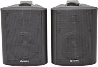 成对供应高质量双向扬声器 4 黑色