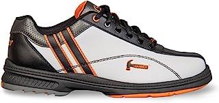 Hammer 女士 Vixen 左手保龄球鞋 - 白色/黑色/橙色