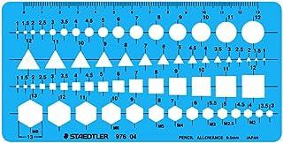 STAEDTLER 模板 组合尺 976 04