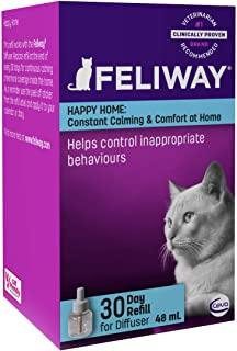 Feliway 费利威 经典30天补充装,抚慰猫咪并帮助解决家庭中的行为问题-48毫升