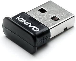 Kinivo BTD-400 蓝牙 4.0 低能耗 USB 适配器 - 适用于 Windows 10/8.1/8 / Windows 7 / Vista,Raspberry Pi,Linux