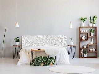 Oedim PVC 床头板/飞马/蜂巢印花白色各种轻质优雅、坚固经济的床板 115x60cm MPD11110A3