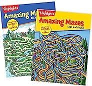 Highlights 神奇迷宫 2 本书套装 适合儿童 - 专家