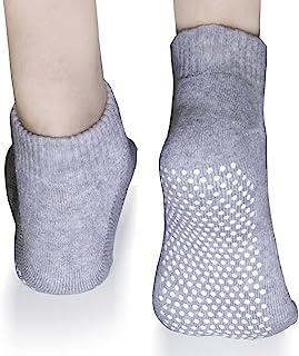 SONMA 女士瑜伽防滑防滑袜,适用于普拉提、酒吧、家庭和*。