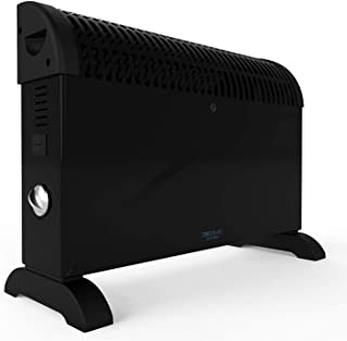 Cecotec Ready Warm 6500 涡轮对流器。 功能强大,可调节温度调节器,3种模式,支架,过热保护,低噪音,360o加热,2000W。