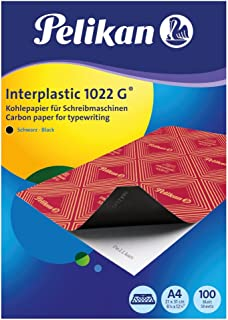 Pelikan 百利金 404400 复写纸 interplastic 1022G 黑色 A4 100 张