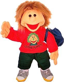 Living Puppets Gro e 手偶 Florian 带泳裤 尺寸:65 厘米 颜色:红色 供货范围:背包泳裤 MA000W230