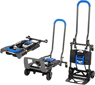 Cosco 家居办公用品 手推车和搬运车 2 合 1 1 件 蓝色 12222BG1UE