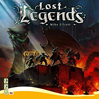 棋盘游戏 - Lost Legends 英文拼图策略游戏