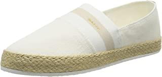 GANT 女式 Raffiaville 帆布便鞋