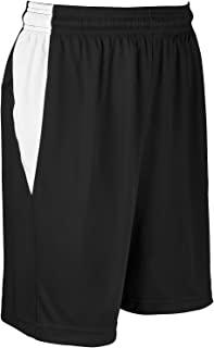CHAMPRO Block 涤纶篮球运动衫,女式 3XL 码,黑色,白色