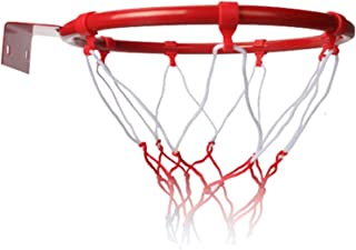 æ— 篮球球门圈,篮球目标壁挂式篮球篮筐,篮球篮筐,运动网儿童篮球训练室内室外直径25厘米