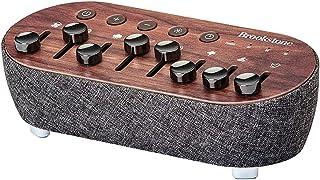 白噪声机混音器   8 种自然声音   7 种夜灯颜色   自动关闭定时器   可定制声音,用于*或冥想   木饰面   布鲁克斯通