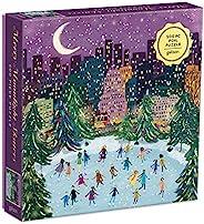 Merry Moonlight Skaters 500 片铝箔拼图