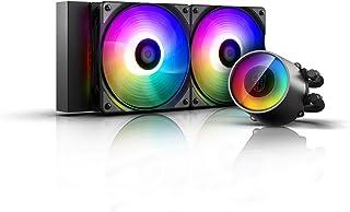 Deepcool GAMER STORM CASTLE 240RGB V2 水冷一体型 CPU冷却器 [Intel/AMD两种适用] FN1325 DP-GS-H12AR-CSL240V2