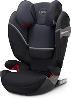 CYBEX Gold Solution S-Fix 儿童汽车椅 适用于带/不带ISOFIX的汽车,2/3组(15-36公斤),约3-12岁,花岗岩黑