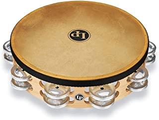 Latin Percussion Pro 10 铃鼓,铝,双排(LP384-AL)