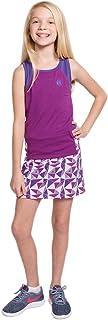 Street Tennis Club 女童网球背心和裙套装,内置短裤