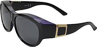 偏光女式太阳镜,戴在*眼镜上,防紫外线,高清视野