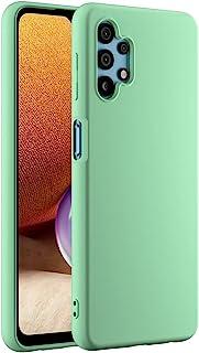 Cresee 兼容三星 Galaxy A32 5G 手机壳,薄硅胶保护套,带超细纤维内饰防刮超薄贴合灵活手机壳 - *
