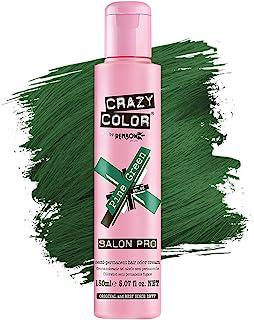 Crazy Color *剂 - 纯素和无残忍的半永久*剂 - 用于预亮或金发的临时* - 无需过氧化物或显影剂(淡*)