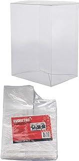 EVORETRO 兼容 Funko 流行保护膜(透明塑料) - 无酸壳显示器 - 防刮包装盒 20 Pop 4 INCH