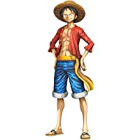 Banpresto Onepiece Grandista Monkey D. Luffy Manga 尺寸公仔,多色