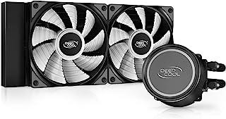 Deepcool GAMMAXXL240 A-RGB 简易水冷CPU散热器 搭载ARGB风扇 240毫米 DP-H12CF-GL240-ARGB FN1540