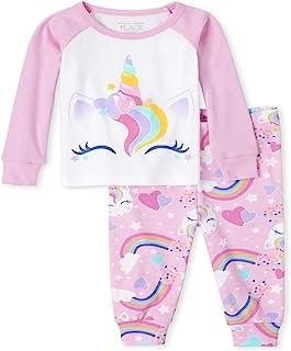 The Children's Place 女童婴儿和幼儿妈妈和我*佳匹配舒适棉质睡衣